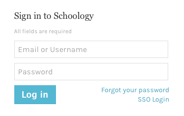 Schooogy Sign In
